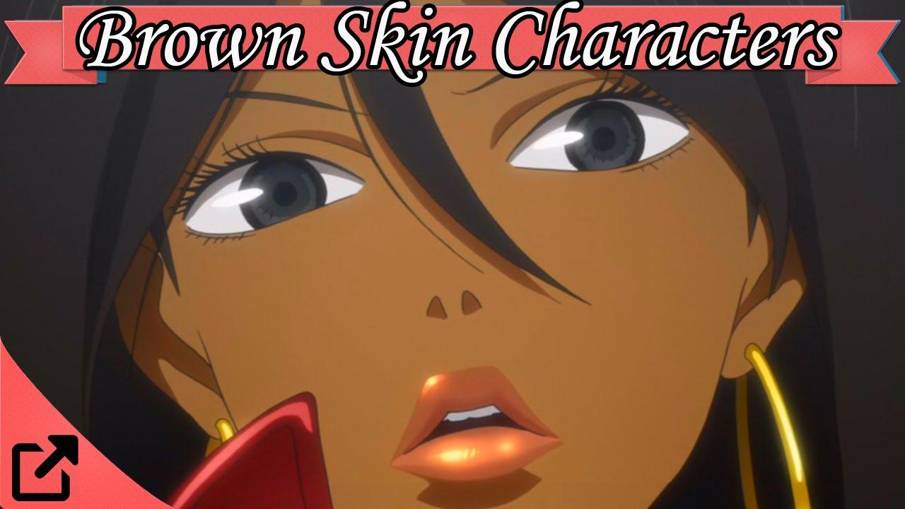 characters Brown skin anime