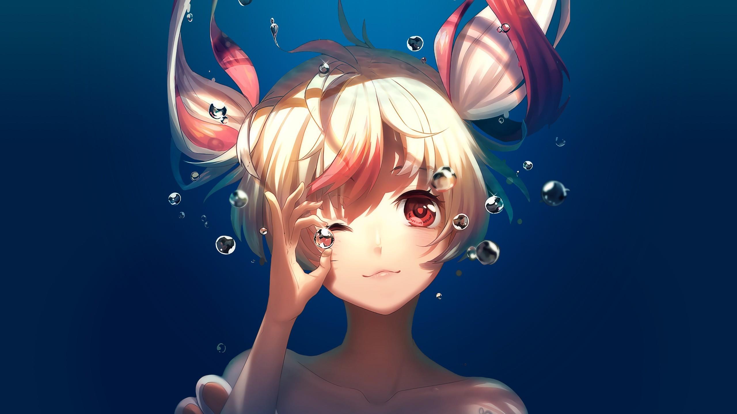 girl in red Anime