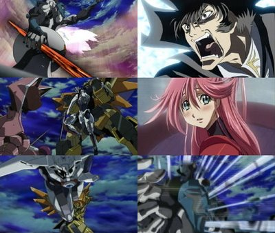 anime Gun x sword