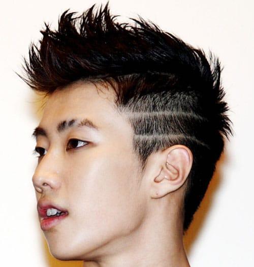 long daddy shared hair Asian