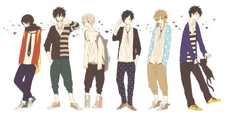 clothes boy Cute anime