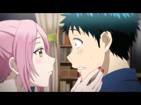 Hot anime kiss scenes