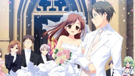 about married couple Anime
