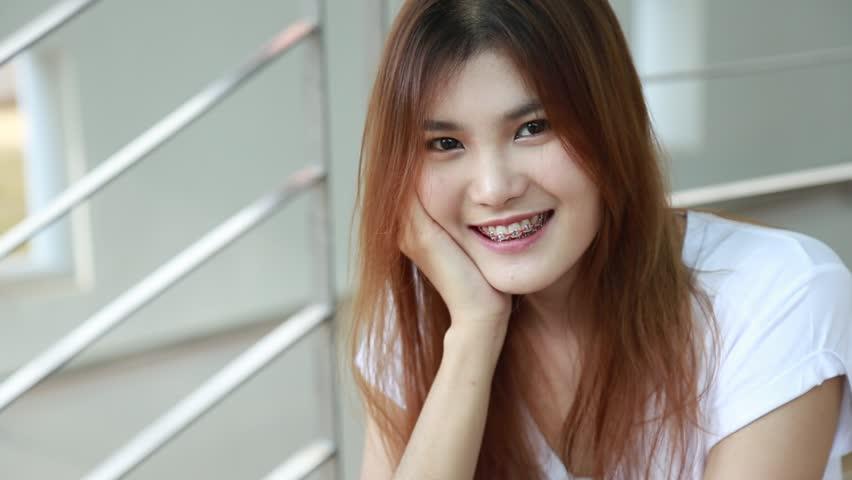 asian POV webcam blonde