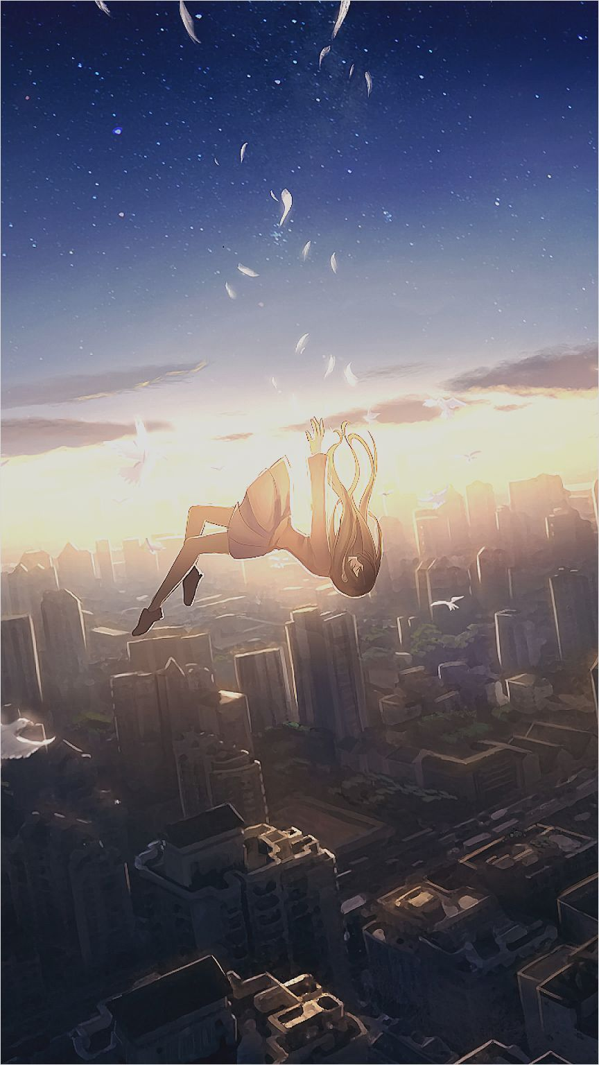 wallpaper Beautiful anime