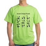 and Fuck chinese cussing t shirts shit - proverb this