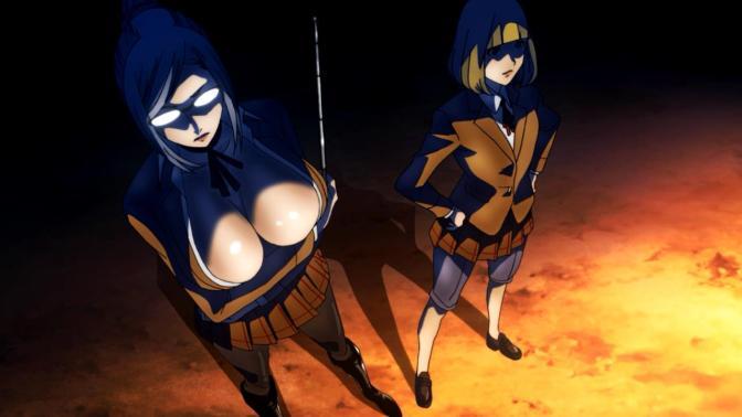 Anime golden showers