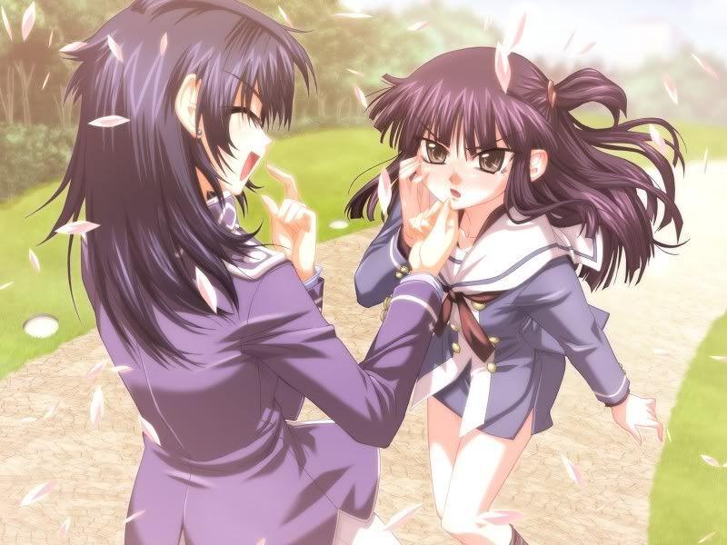 shows Lesbian anime tv