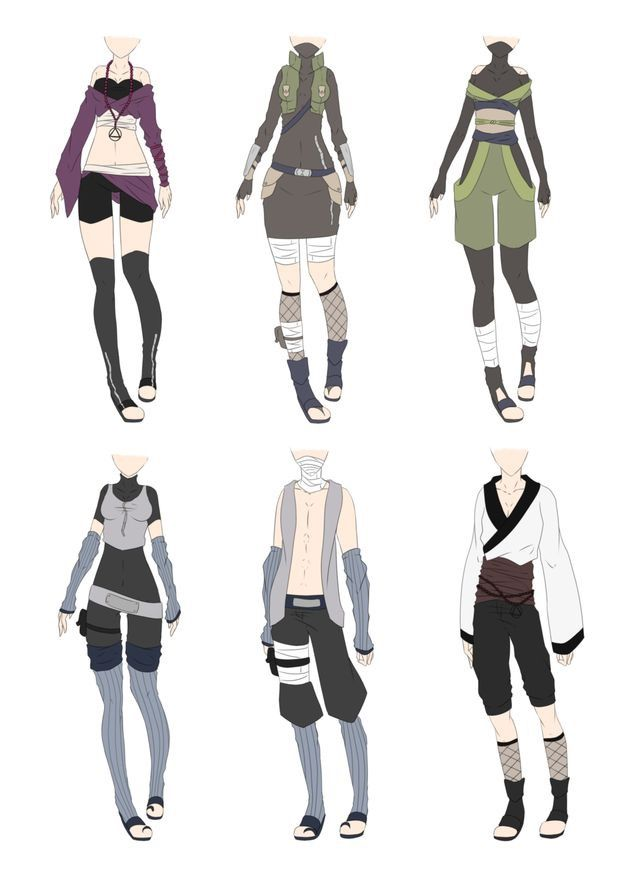 Cute anime boy clothes