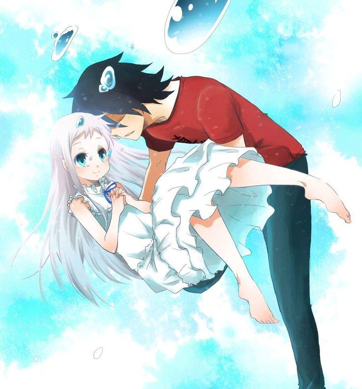 holding Anime girl guy