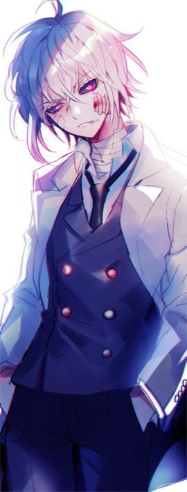 anime shirt boys haired White