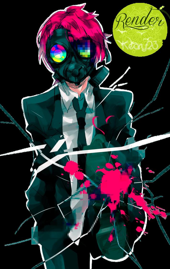 gas Anime mask guy