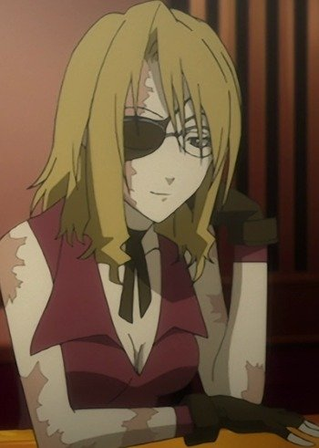 punk girl hair Anime