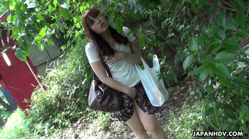 asian outdoor Cheating young
