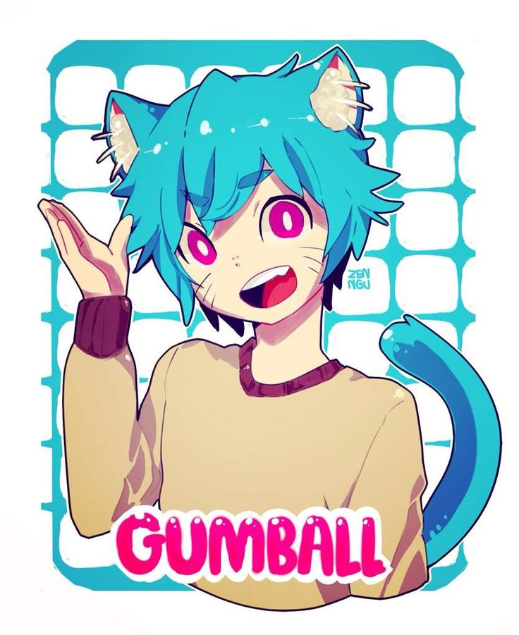 gumball The anime world of amazing