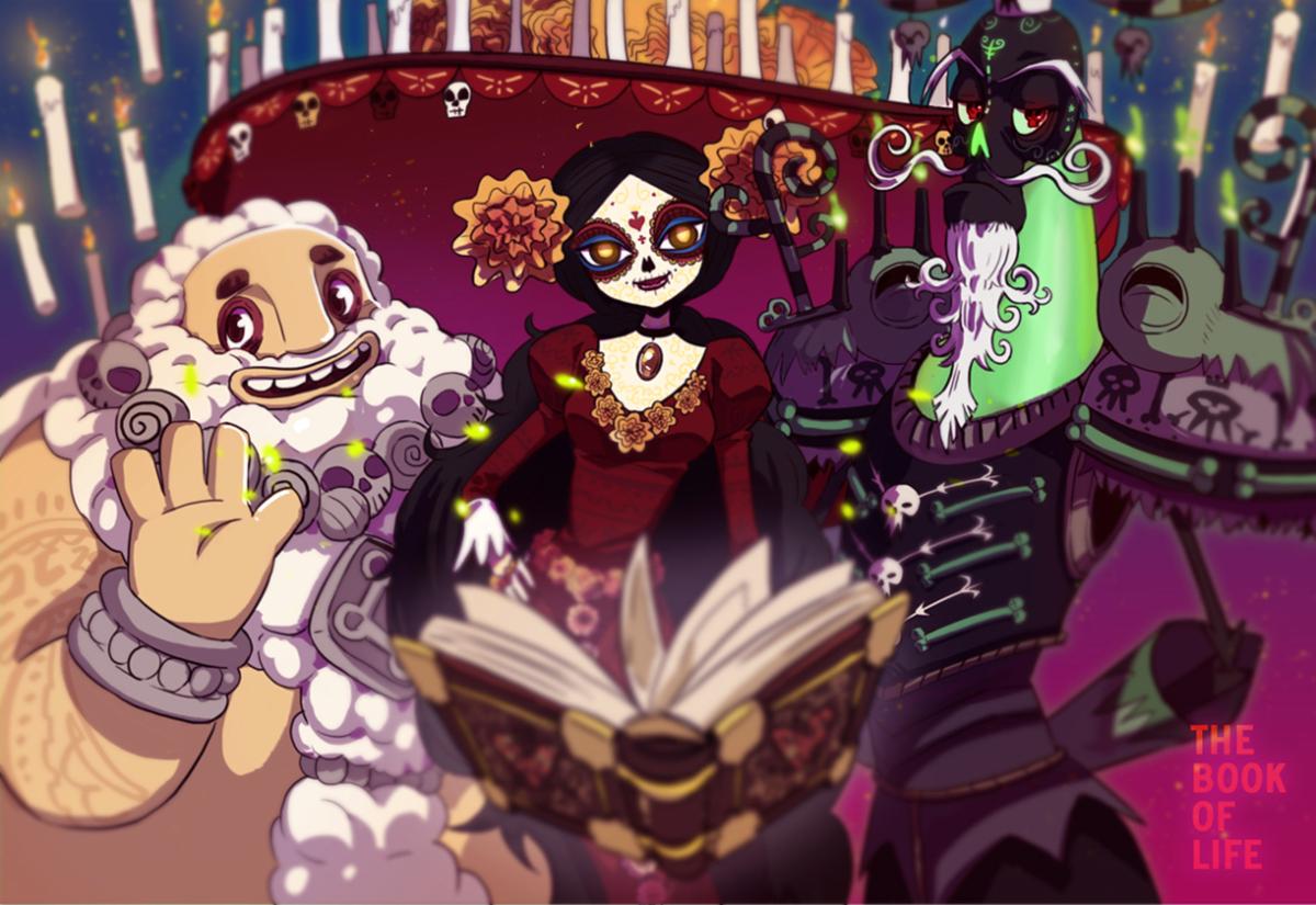 life anime of Book