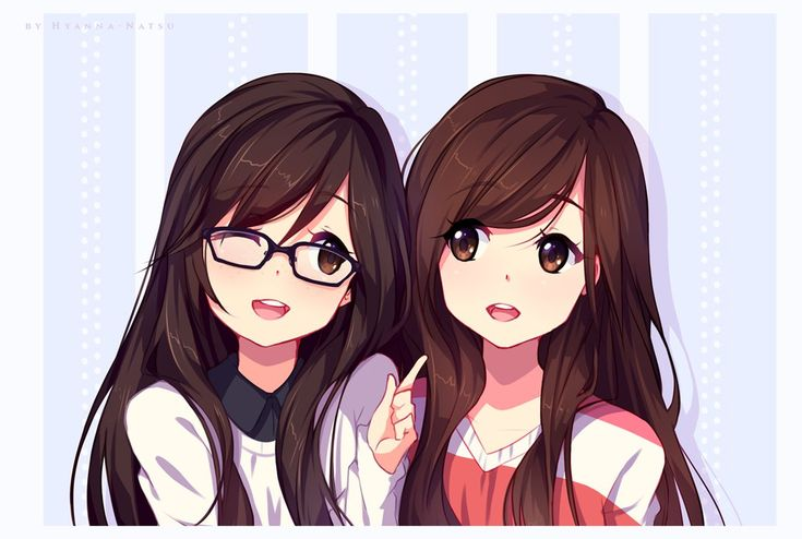 girls two Anime with