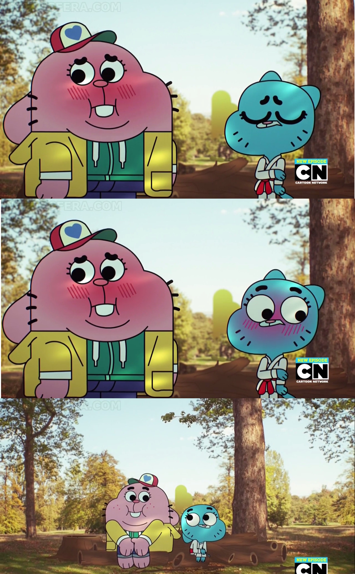 episode gumball if an was full What anime world of the amazing