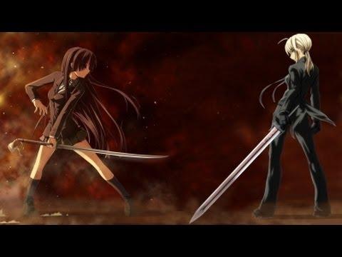 sword fighter female Anime