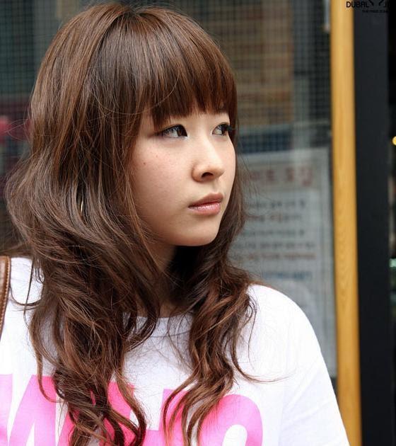 sensual cute Long asian hair