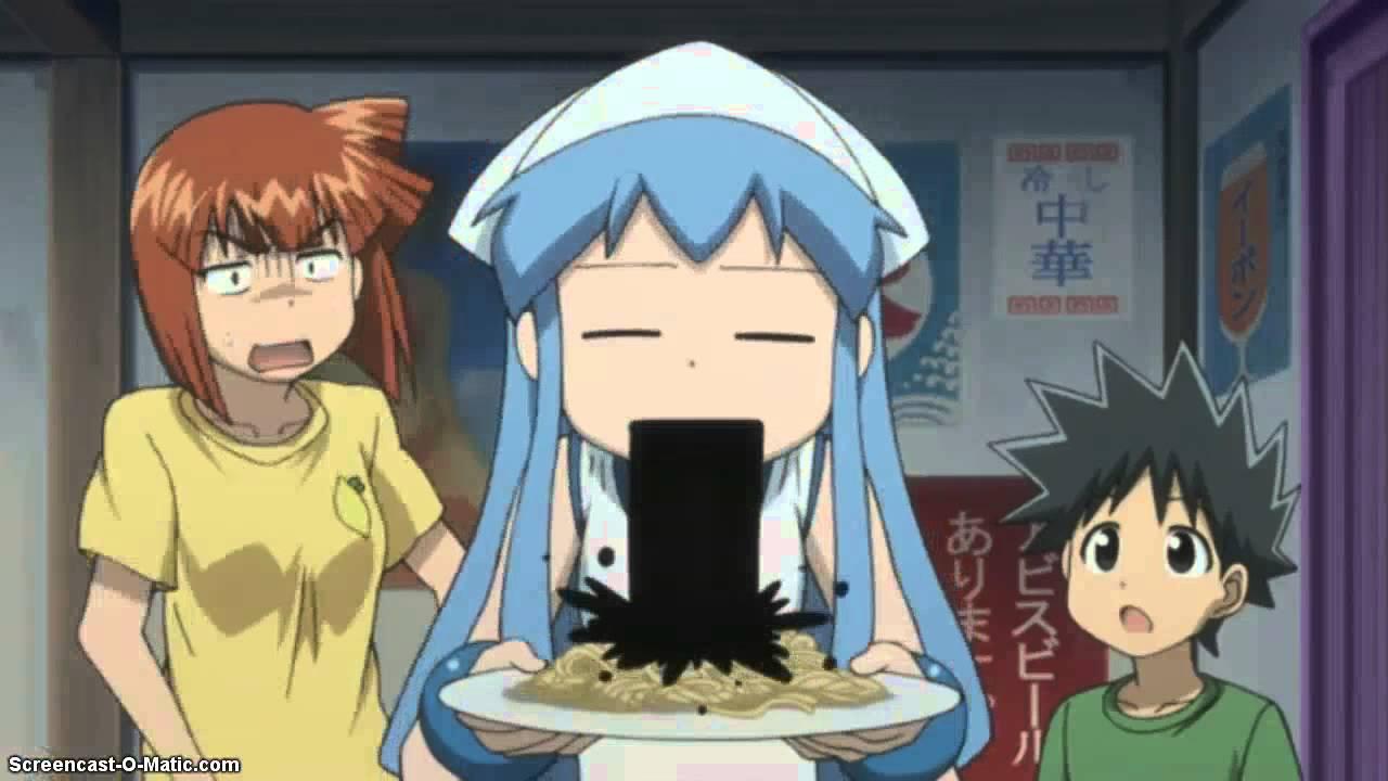 up Anime girl throw