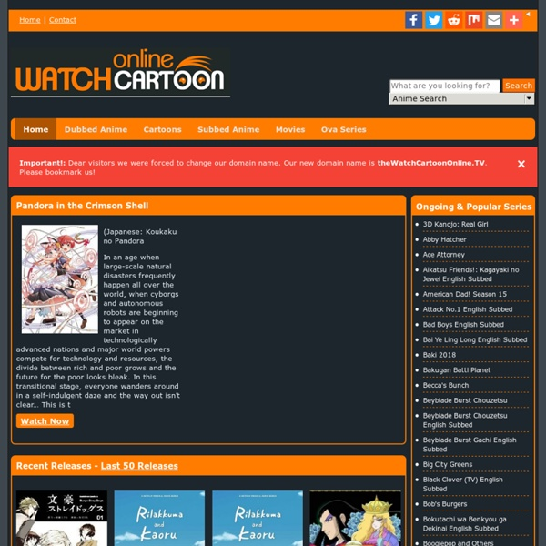 anime Watch english dubbed cartoon and