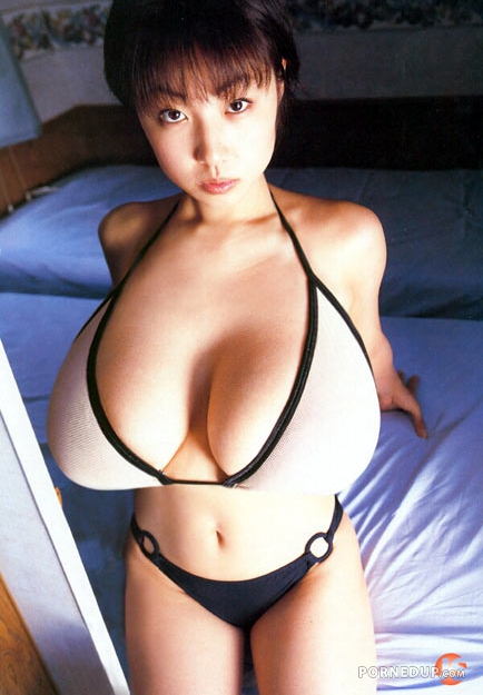 big Chinese tits with woman