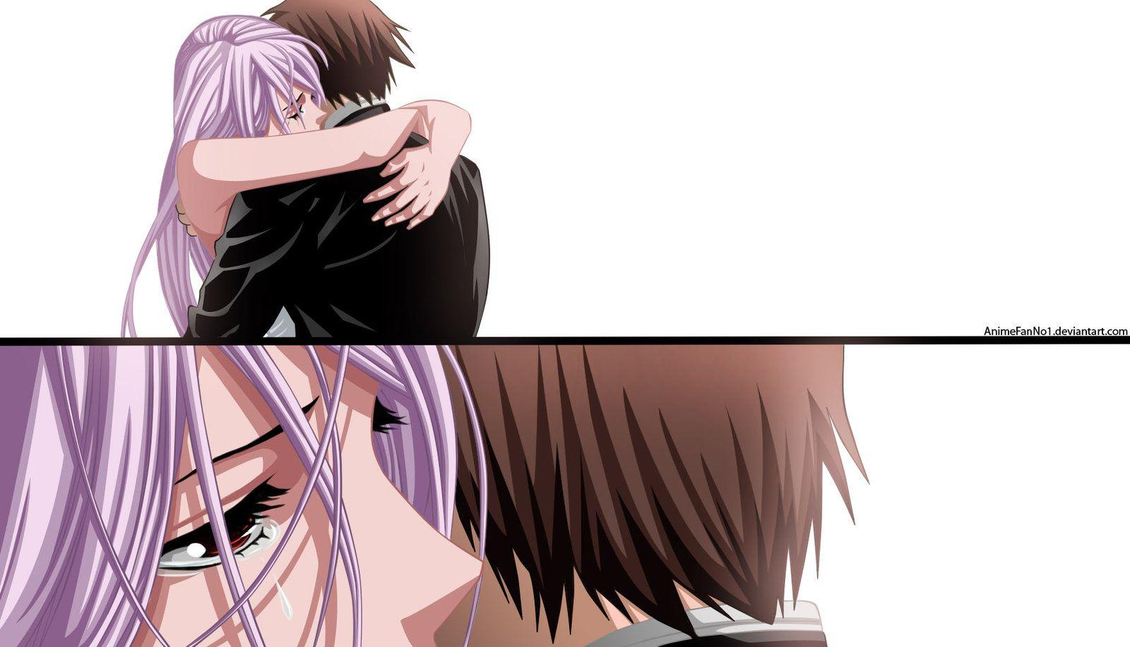 kiss Rosario anime vampire