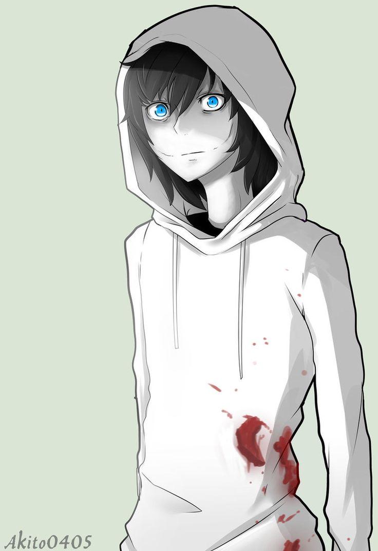 in anime Jeff the killer