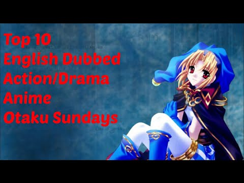 dubbed anime Best action