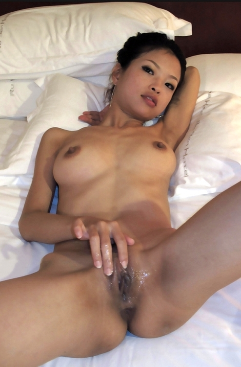 babe showing asshole Chinese