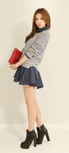 secretary Long hair cute asian