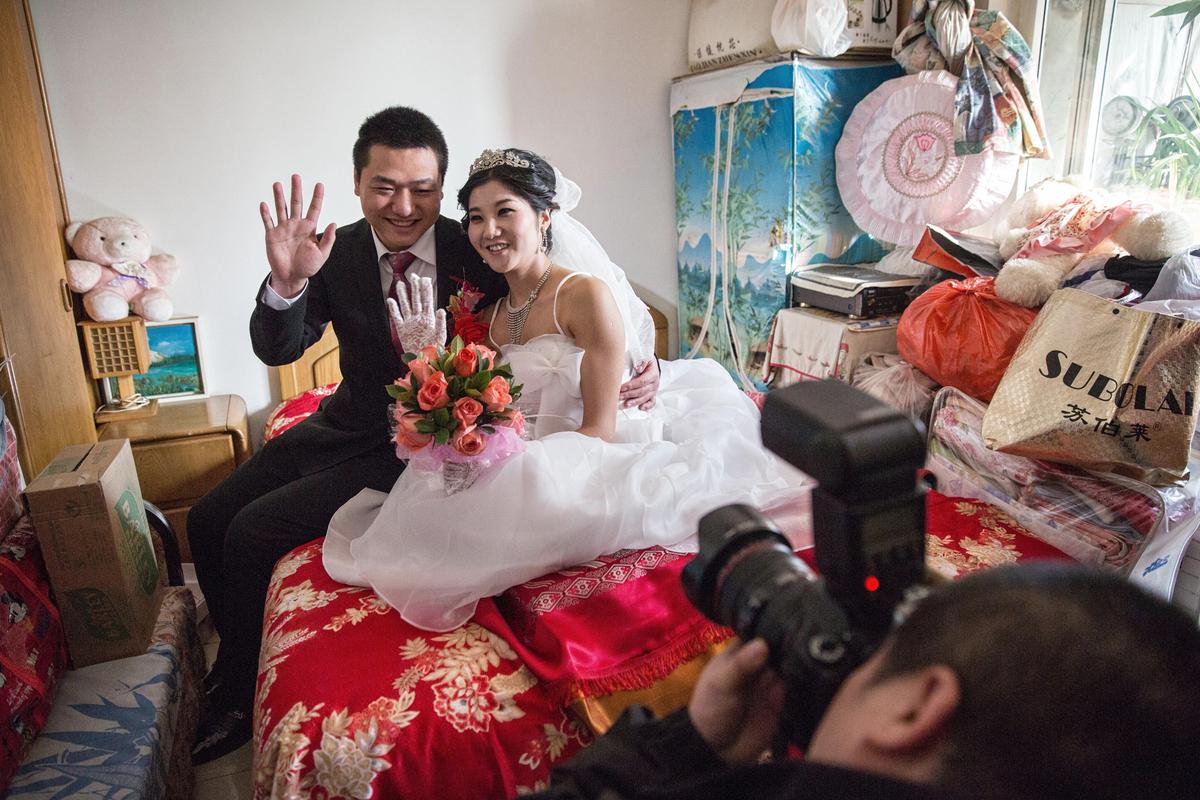 Asian wedding night sex