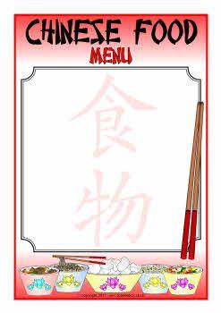menu porn food Chinese