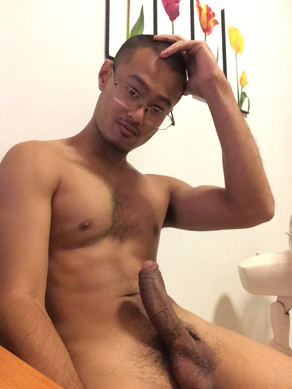 Nude young chinese asian