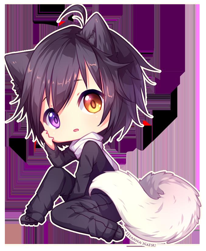 boy wolf Cute anime