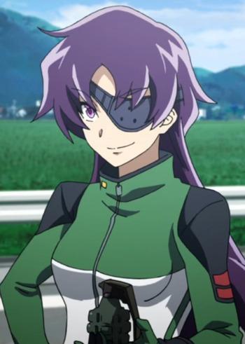 characters Dark skin anime girl