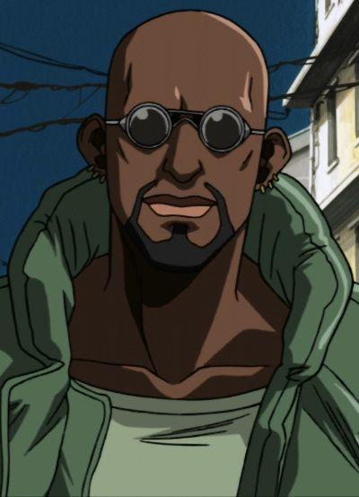 anime Dark skinned characters male