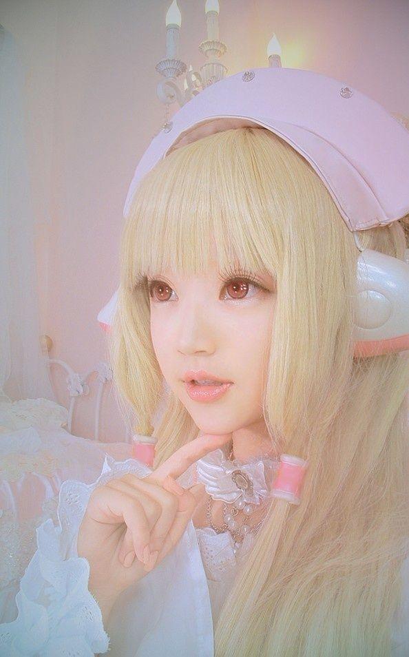 anime cosplay Cute girl